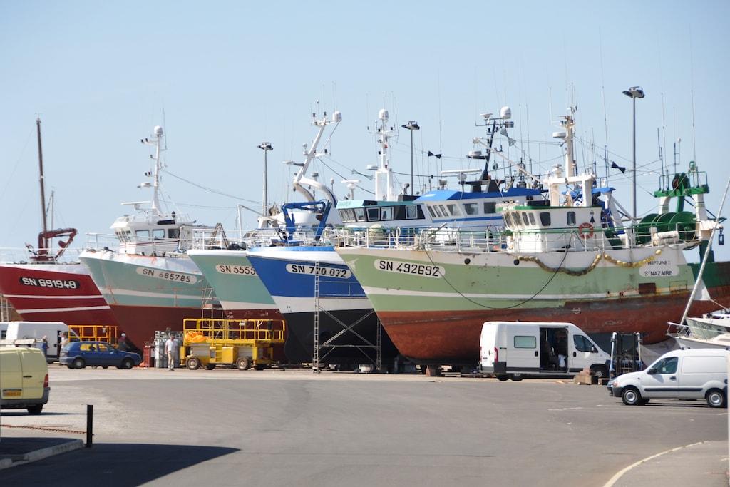 L'aire de réparation navale de la Turballe