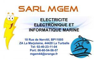 Carte de visite de l'entreprise MGEM