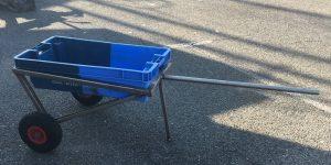 Chariot de transport mis à disposition des plaisanciers