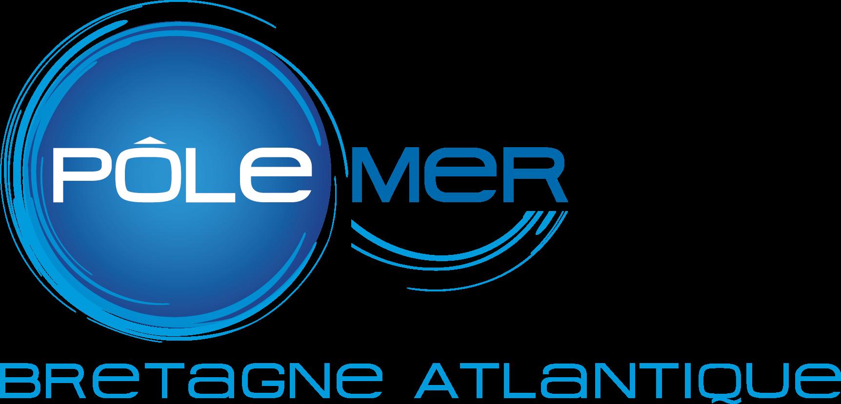 Logo Pôle Mer Bretagne Atlantique partenaire de Loire Atlantique pêche et plaisance