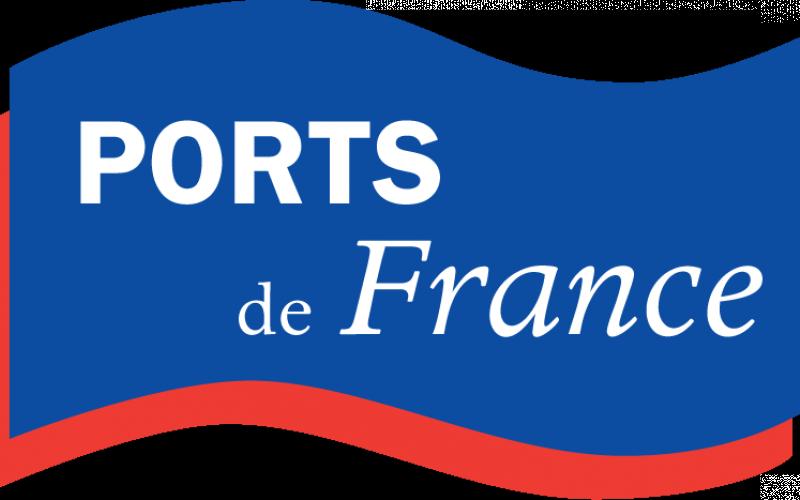 Logo Ports de France partenaire de Loire Atlantique pêche et plaisance