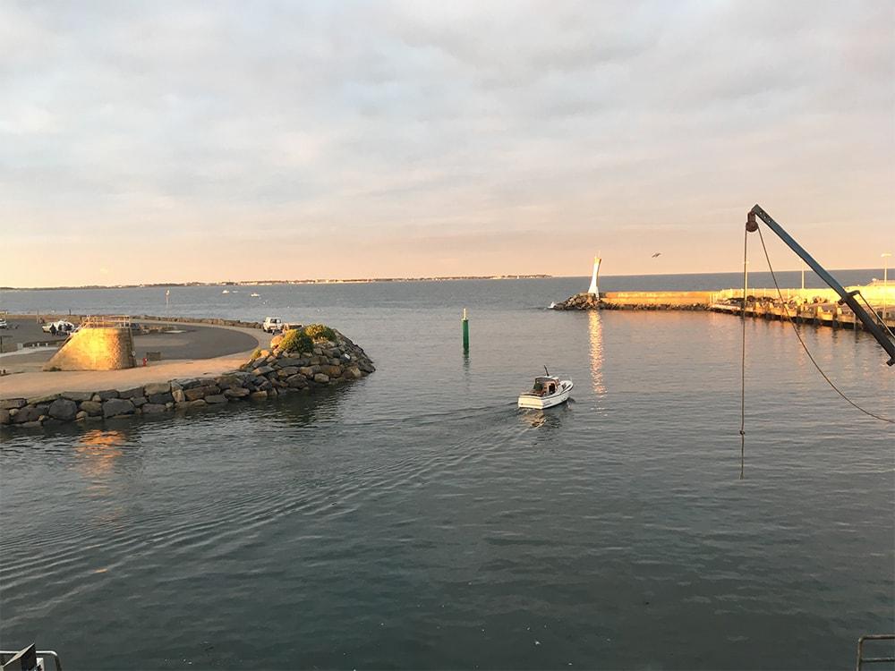 Accès au port de la Turballe