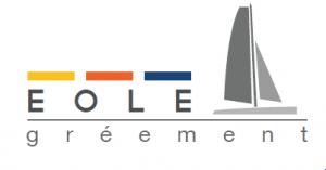 Logo de Eole gréement partenaire de Loire Atlantique pêche et plaisance