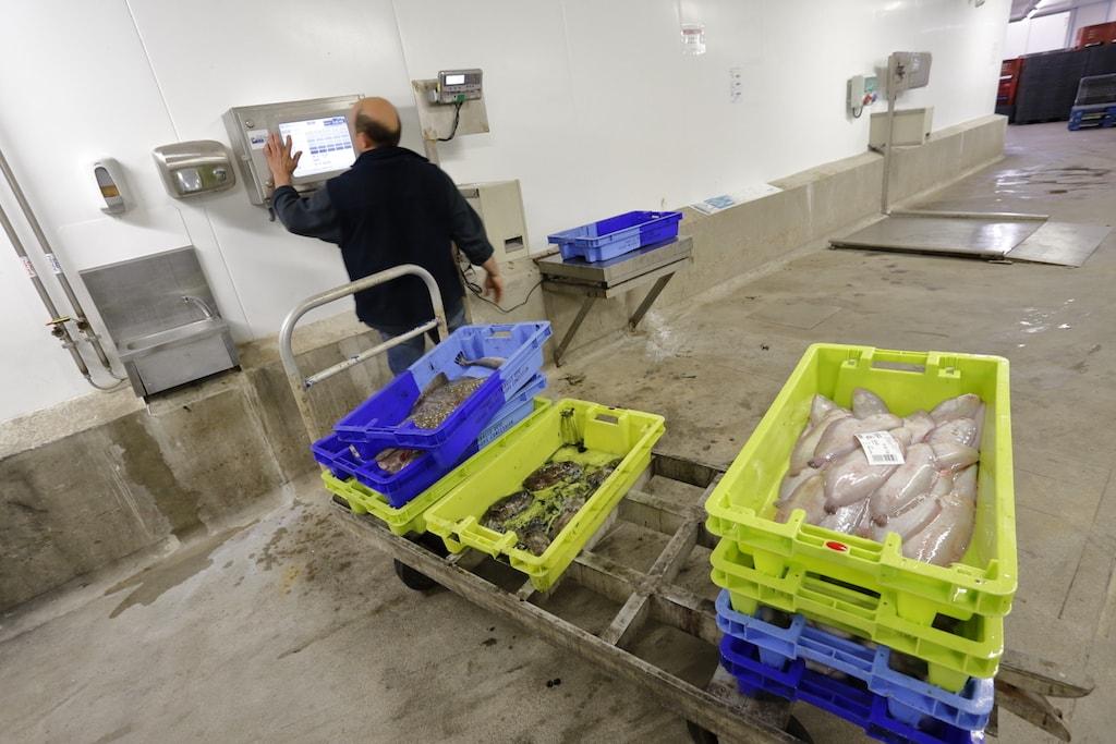 Balance de pesage en libre service mis à disposition des pêcheurs