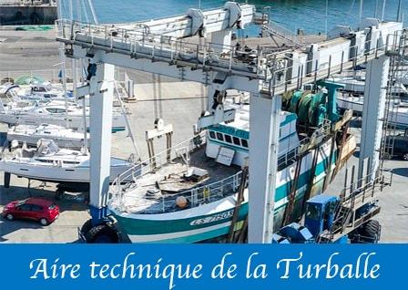 Image de présentation de l'aire technique de la Turballe
